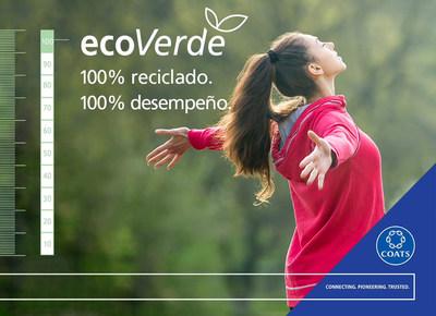 Coats presenta portafolio EcoVerde, con hilos de costura premium 100% recicladas