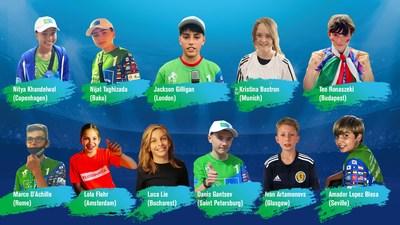 11 winners young journalists of F4F Euro 2020 News Bureau
