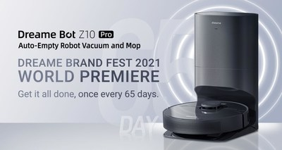 Dreame Bot Z10 Pro Auto-Empty Robot Vacuum and Mop: Get it all done, once every 65 days.