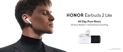 HONOR Earbuds 2 Lite deliver excellent performance and an impressive audio experience in an ergonomic design