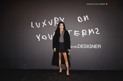 Peggy Gou attends Zalando Designer Event 'Luxury on your Terms' at Milan Fashion Week on September 23, 2021 in Milan, Italy. (Photo by Stefania M. D'Alessandro/Getty Images for Zalando)