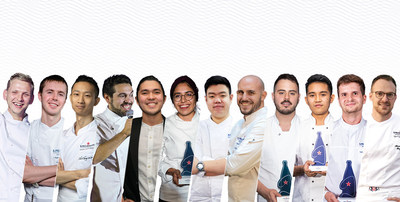 The 12 regional winners that will compete for the title of S.Pellegrino Young Chef Academy 2021 global winner.